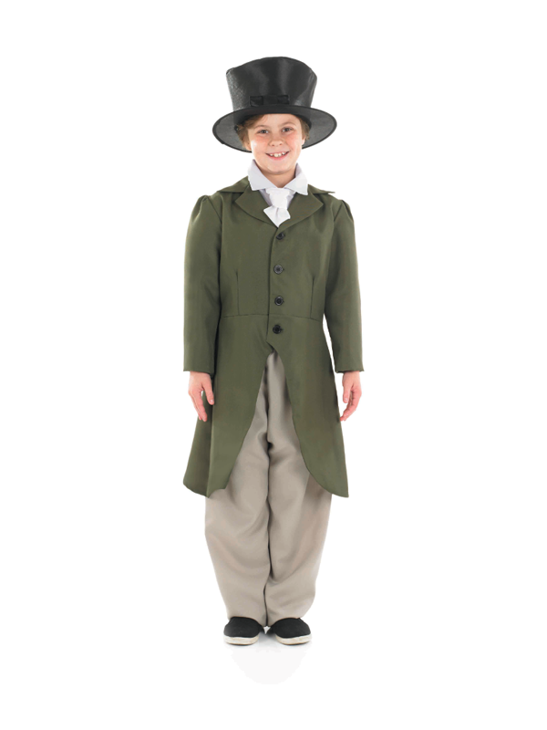 Child-Regency-Boy-Oliver-Twist-Fancy-Dress-Costume-Book-Week-Edwardian-Boys-BN