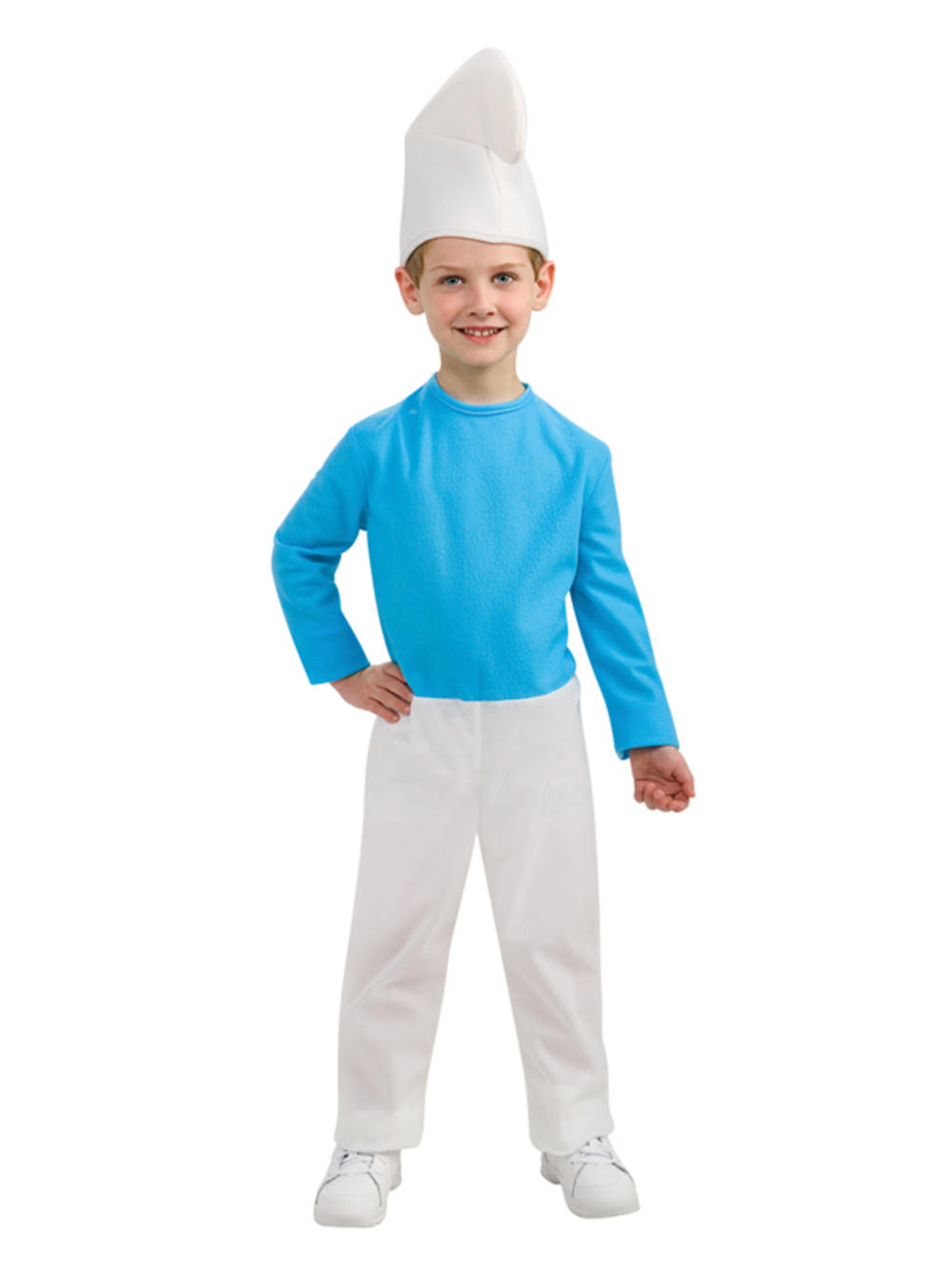 Child The Smurfs Smurf Outfit New Fancy Dress Costume Book Week ...