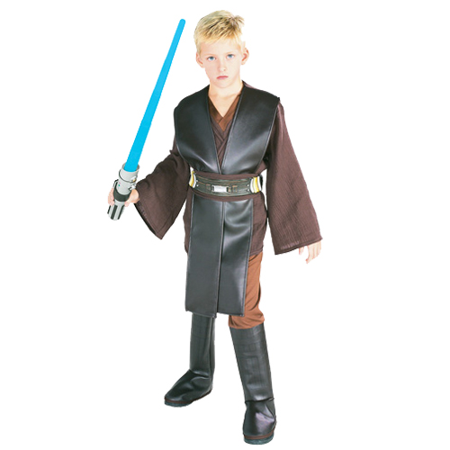 Child-Star-Wars-Fancy-Dress-Costume-Halloween-Book-  sc 1 st  eBay & Child Star Wars Fancy Dress Costume Halloween Book Week Outfit Kids ...