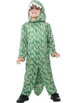 View Item Child Dinosaur Fancy Dress Costume Animal Alligator Crocodile Kids Boys