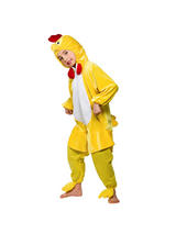 View Item Child Chicken Fancy Dress Costume Book Week Farm Bird Kids Boys Girls Unisex