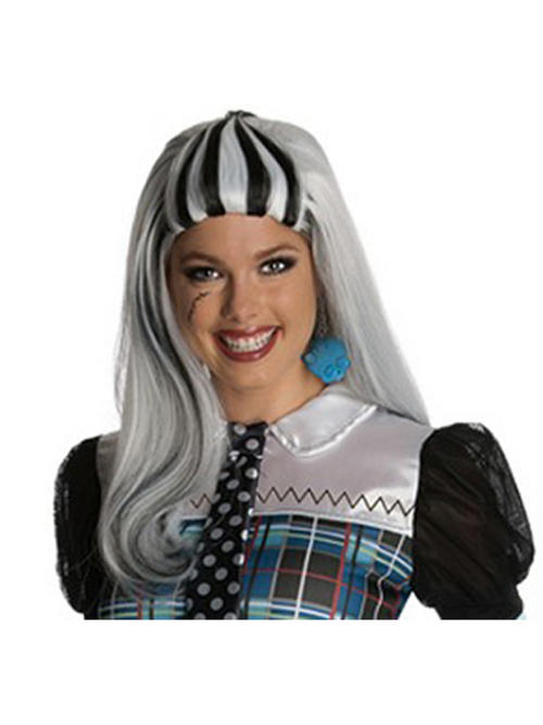 View Item Adult Monster High Frankie Stein Wig