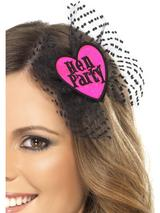 "View Item Adult Party ""Bride To Be"" Hair Bow With Netting Fancy Dress Hen Night Fun Ladies"