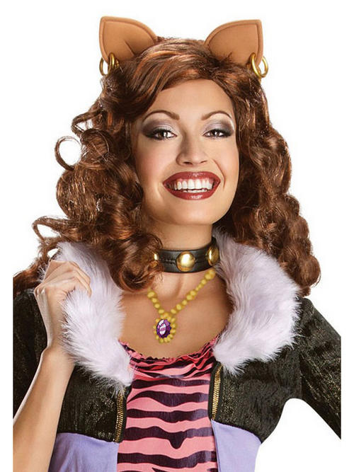 View Item Adult's Monster High Clawdeen Wolf Wig