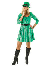 The Riddler (Batman) Ladies Costume