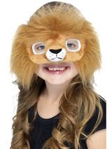 View Item Child Plush Animal Eyemasks Fancy Dress Book Week Wild Animal Zoo Farm Kids
