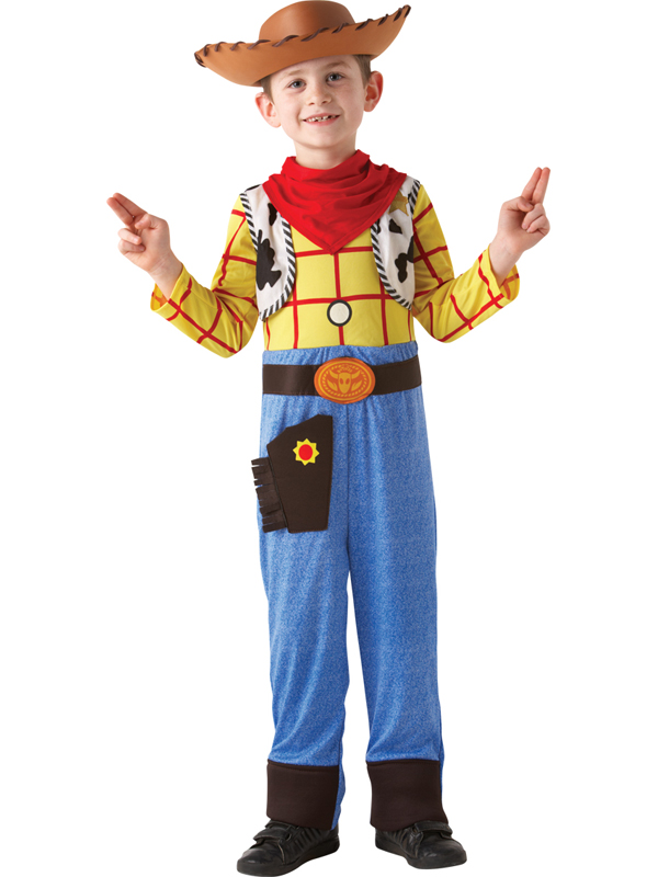 Child Licensed Disney Toy Story Deluxe Woody Fancy Dress Kids ...