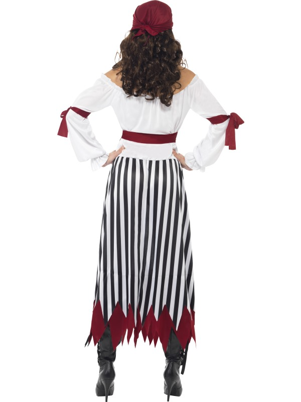 Adult-Pirate-Lady-Fancy-Dress-Costume-Carribean-Ladies-Womens-Female-BN