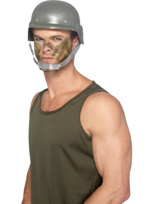Army helmet american gi fancy dress world war ii mens ladies gents