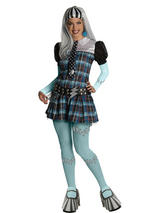 Adult Monster High Frankie Stein Fancy Dress Costume