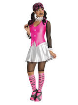 Adult Monster High Draculaura Fancy Dress Costume