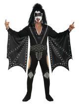 View Item Adult Kiss The Demon Fancy Dress Costume Rock Mens Gents