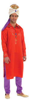 View Item Adult Bollywood Man Fancy Dress Costume Mens Gents