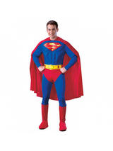 Men's Deluxe Superman Muscle Chest Costume