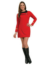 Lt Uhura Star Trek Ladies Costume