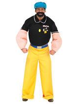 Brutus (Popeye) Men's Costume