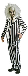 View Item Adult Beetlejuice Fancy Dress Costume Mens Gents Male