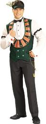 View Item Adult Card Dealer Fancy Dress Costume Casino Mens Gents Male