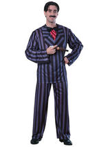 View Item The Addams Adams Family Gomez Mens Halloween Fancy Dress Costume 2 Sizes New