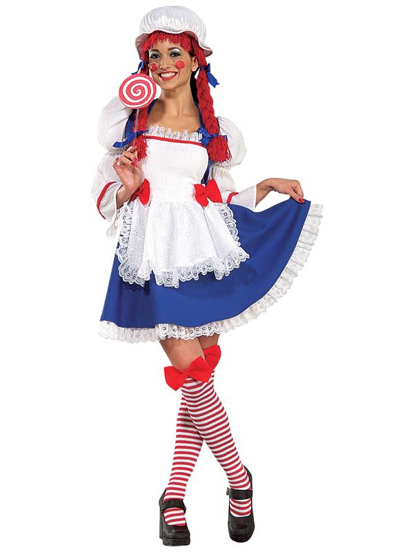 Ladies Rag Doll Yarn Costume