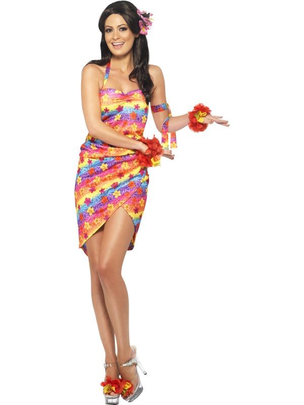 Гавайское платье