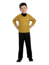 Star Trek Gold Shirt Costume