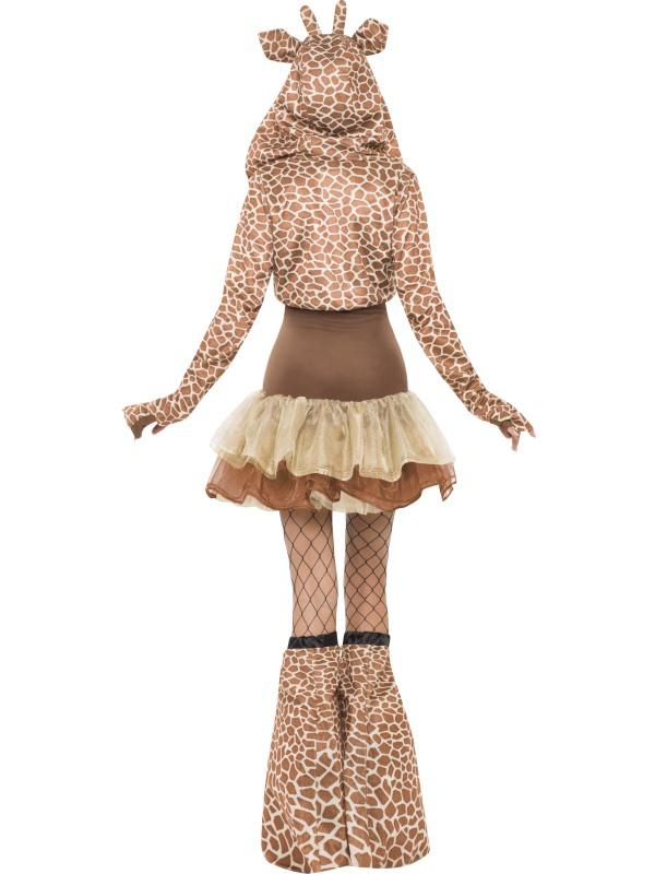 Adult Giraffe Fancy Dress Costume Sexy Safari Animal  sc 1 st  Meningrey & Giraffe Costume For Women - Meningrey