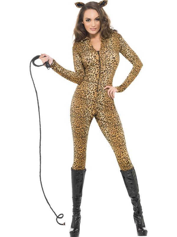 Animal Print Cat Suit