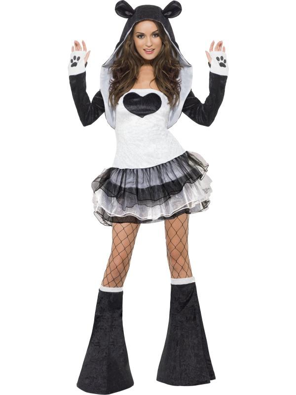 Adult Ladies Sexy Panda Costume