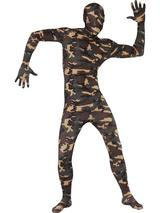 Adult Second Skin Camouflage Bodysuit