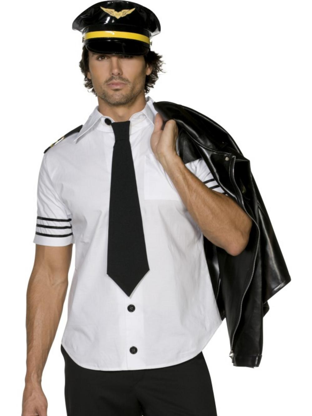 Mile high pilot sexy adult costume