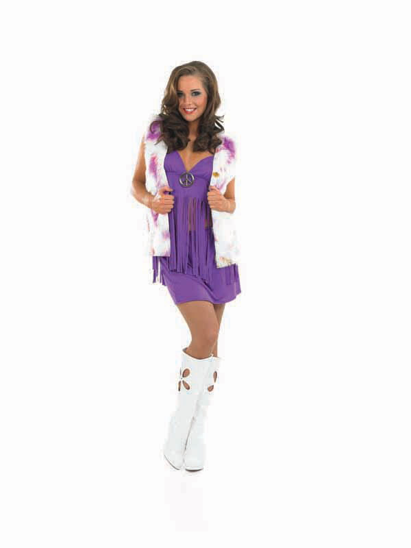 Sexy s Groovy Chick Costume .