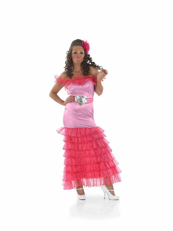 Gypsy-Pink-Bridesmaid-Fancy-Dress-Ladies-Big-Fat-Gypsy-Wedding-Hen-Night-Costume