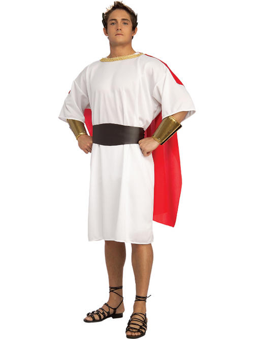 Item details adult centurion fancy dress roman toga costume