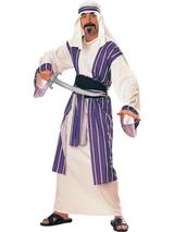 View Item Adult Desert Prince Fancy Dress Arab Costume (Standard)