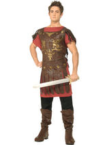 View Item Adult Gladiator Fancy Dress Greek Costume (Standard)