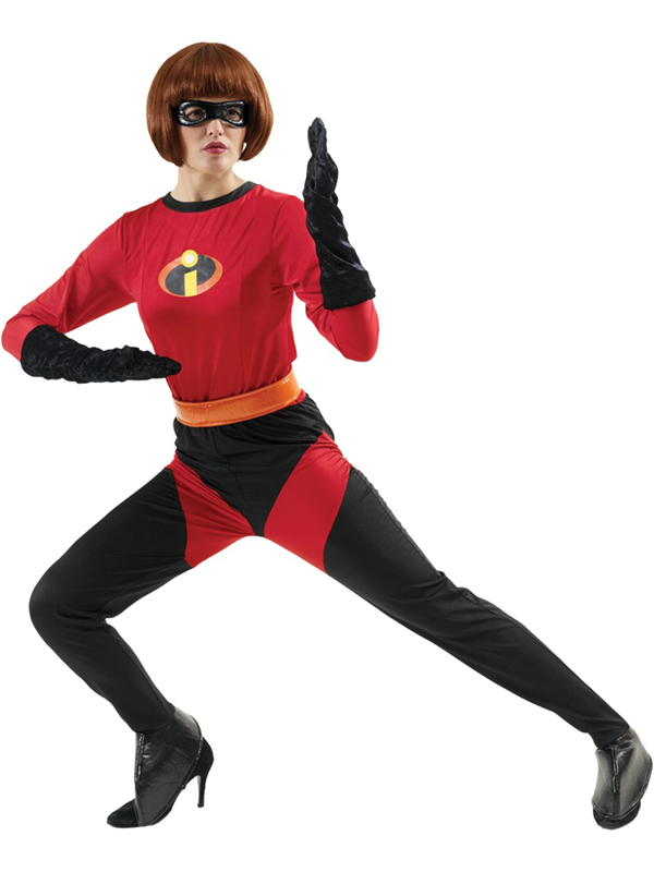 Adult-Disney-Mrs-Incredible-Fancy-Dress-Costume-Ladies-Women-Female
