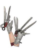 View Item Adult Edward Scissorhands Hands Gloves Fancy Dress