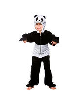 Boy's Panda Jumpsuit Costume