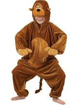 Boy's Monkey Chimp Jumpsuit Costume