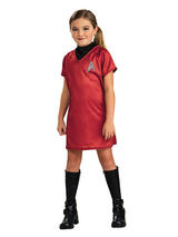 Star Trek Uhura Girl's Official Costume