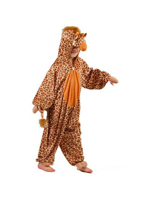 Boy's Giraffe Jumpsuit Costume