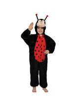 Boy's Ladybug Jumpsuit Costume