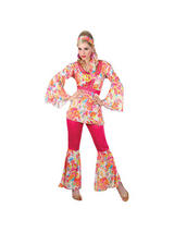 Ladies 1960s Hippie Honey Costume