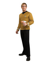 Star Trek Captain Kirk Men's Official Deluxe Top