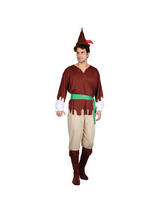 View Item Adult Large Robin Hood Medieval Prince Of Thieves Fancy Dress Costume Mens Gents