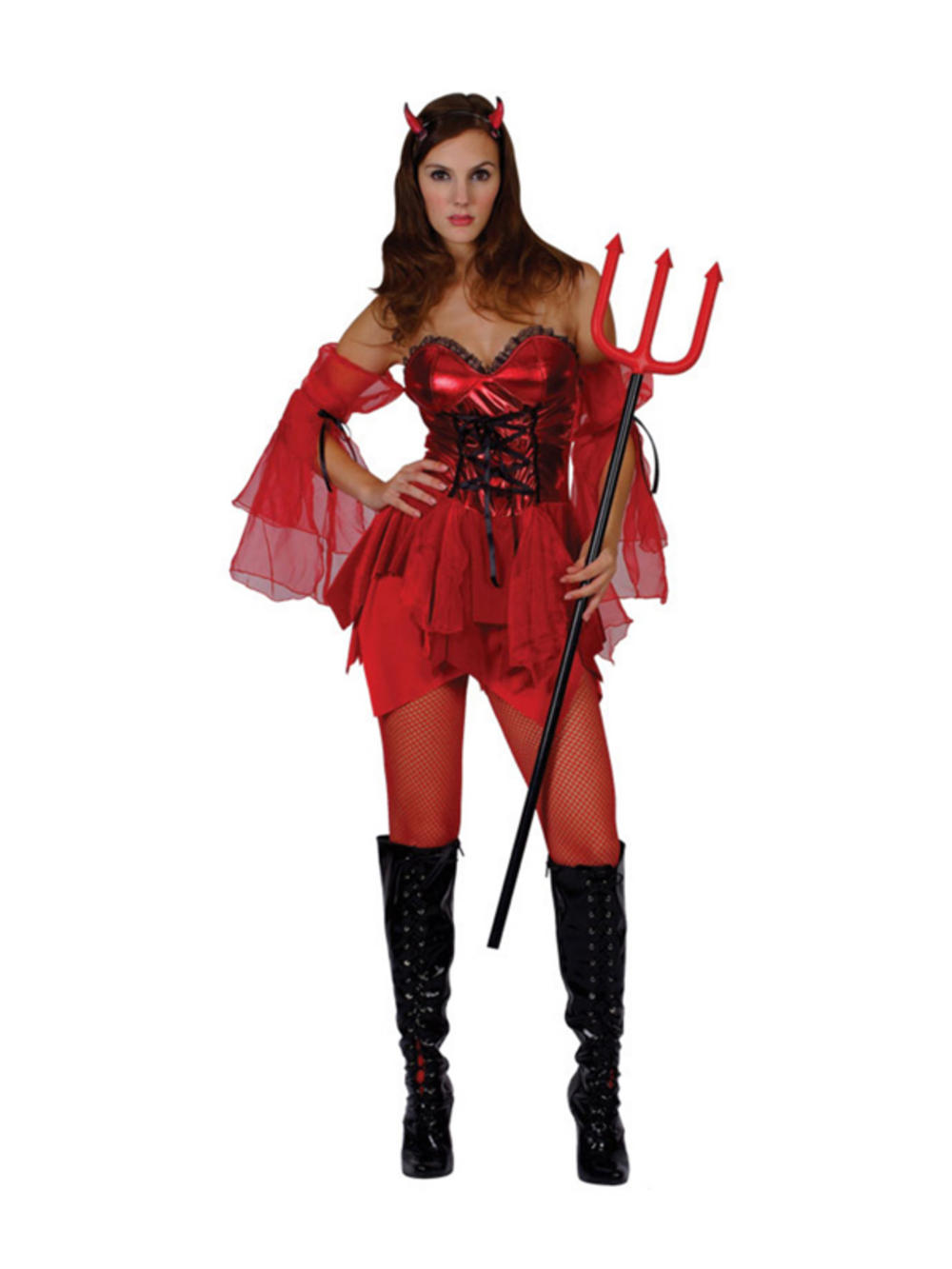 Adult Ladies Sexy Devil Satan Halloween - 85.7KB