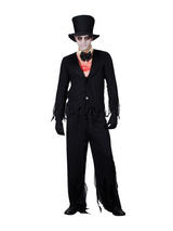 View Item Adult Zombie Bridesgroom Fancy Dress Gothic Wedding Costume Mens Gents Male