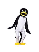 Men's Penguin Jumpsuit Costume
