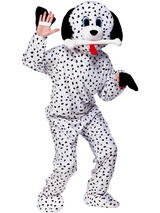 Men's Dotty Dalmatian Dog Jumpsuit Costume